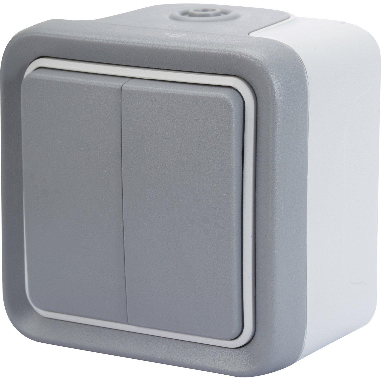 comment brancher un interrupteur double allumage. Black Bedroom Furniture Sets. Home Design Ideas